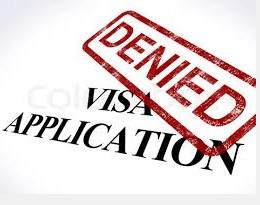Pic Denied Visa Application