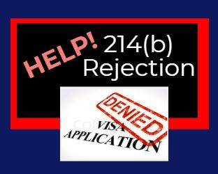 214 b rejection help f visa denied