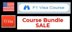 F1 VISA COURSE BUNDLE SALE