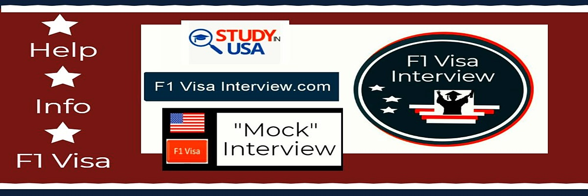 f1 banner interview help and info leading to an f1 visa