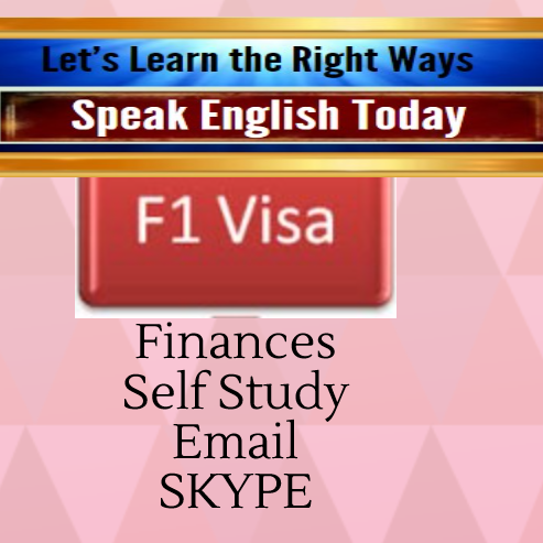 Finances self study email and SKYPE